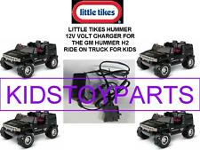 12V Charger for the BLACK Little Tikes Hummer H2 Ride On Car For Kids