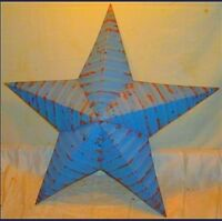 Rustic Genuine Amish Quality Primitive 29 inch Barn Star USA Made Barn Red