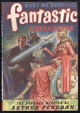 Fantastic Adventures V6 #3 Jun 1944 Sci-Fi Pulp Sexy RG Jones Cover Finlay FR/GD