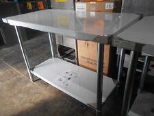 "Atosa Mrtw‑2448 48"" Stainless Steel Work Table with Undershelf"
