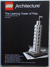 Lego Architecture Bauanleitung für The Leaning Tower of Pisa 21015 Neu