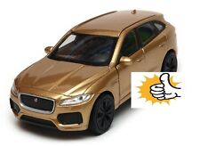 Jaguar F-Pace F Pace 2016 modellauto model car gold Welly diecast 1:38 box