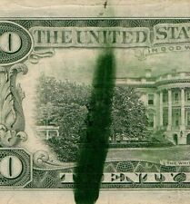 1981 $20 INK SMEAR ERROR - EXTREMELY FINE CONDITION