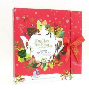 English Tea Shop Organic Advent Calendar Alternative Christmas Holiday Gift