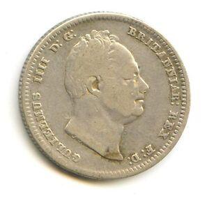 ROYAUME-UNI GEORGE IV (1830-1837) 1 SHILLING ARGENT 1836