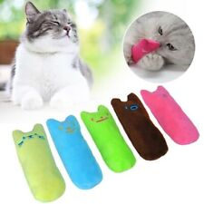 New listing Pet Interactive Plush Cat Toy Teeth Grinding Kitten Chewing Playing Claws