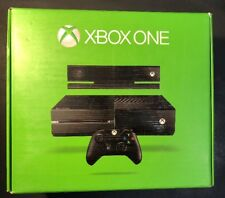 Microsoft XBOX ONE 500GB BLACK Bundle W/ Kinect Sensor NEW
