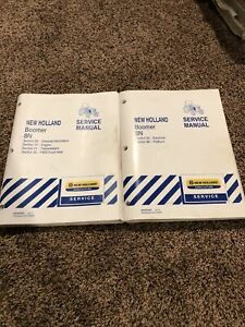 New Holland Boomer 8N Tractor ENGINE TRANSMISSION FWD AXLE Service Repair Manual