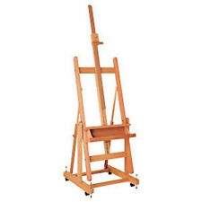 MABEF Professional Artist Beech Wood Reclining Convertible Studio Easel