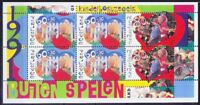 Netherlands 1991 MNH SS, Games, Toys, Barbie Doll, Robot, Children (R2n)
