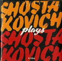 CLASSICAL V.A.-SHOSTAKOVICH PLAYS SHOSTAKOVICH-IMPORT 5 CD WITH JAPAN OBI T74