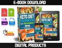 Keto Diet Cookbook For Beginners 2019 FAST DELIVERY