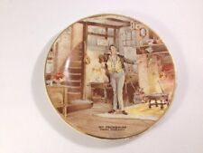 """Mr. Pecksniff ( Martin Chuzzlewit) Vintage Staffordshire Collector Plate 4.5"""""""