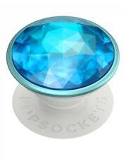 PopSockets - PopGrip - Premium - Disco Crystal Blue - NEW