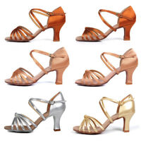 Brand New Ballroom Latin Dance Shoes for Women/Ladies/Girls/Tango heeled shoes