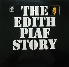 EDITH PIAF - THE EDITH PIAF STORY  -  LP