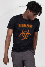 Official Biohazard Logo Unisex T-Shirt New Licensed Merch New Clothing