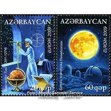 Aserbaidschan Azerbaijan Europa CEPT 2009, Astronomie, kmpl. Satz ** postfrisch
