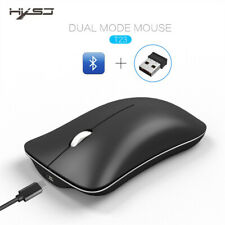 BT 4.0 senza fili ricaricabile USB Dual Mode Gaming Mouse con filo per notebook