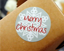 Merry Christmas Stickers Xmas Tree Labels Seals Stickers Decoration Gift 15 Pcs