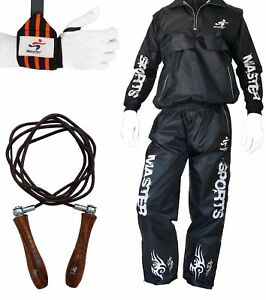 Fitness Set Sauna suit, Jumping Rope Wrist Support Weight Loss Calories Burning