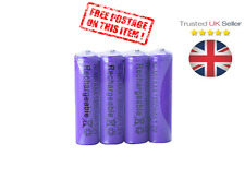 New 4 X AAA 3A 1800mah 1.2V NiMH Rechargeable Cell Battery Batteries