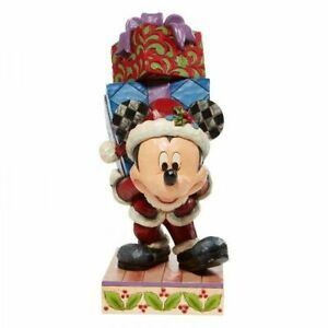 Here Comes Old St. Mick - Mickey Carrying GiftsFigurine