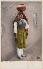 Native Americana ~ A Woman Of Isleta Pueblo ~ Detroit Pub. Co. #5889