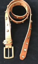 J CREW Brown Crystal Rhinestone Belt New