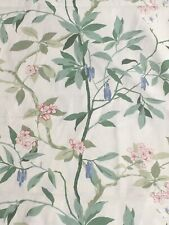 "sanderson fabric curtain/Upholstery material""Cherry Bough""4.25m 54""wide"