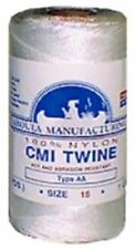 Catahoula Nylon Seine Twine White 1/4# sz 15 Md#: Wnt1/4-18