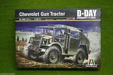 CHEVROLET GUN TRACTOR D-DAY Normandy 1944 1/35 Scale Italeri kit 240