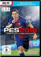 PES 2018 (Premium Edition) (PC) (Neu & OVP)