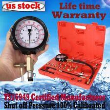 140 PSI Fuel Injection Pump Injector Tester Test Pressure Gauge Automotive Tools
