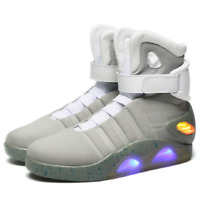 BACK TO THE FUTURE WARRIOR BASKETBALL LED LIGHT SHOES High Top Sneaker Boots