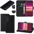 For Sony Xperia 1 II 5 10 XA XA1 L1 L2 L3 XA2 E5 Leather Wallet Phone Case Cover