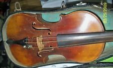 Old Antique FULL SIZE Violin with bow and case BOHEMIAN