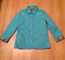 Authentic Burberry Jacket (M) Turquoise