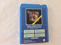 Paul Anka Gold 28 Recordings. 8-Track Tape. Untested As Is. See Description.