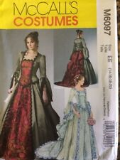 Womens Victorian Costume sz 14-20 McCalls Sewing Pattern McCalls 6097*