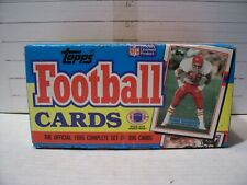 1989 TOPPS FOOTBALL FACTORY UNSEALED SET (396) MINT 116 ROOKIES