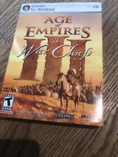 Age of Empires III The War Chiefs expansion Pack PC CD Windowns XP or higher