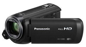 Panasonic HC-V380EG-K Full-HD Camcorder  HC V380  vom Fachhändler  ****