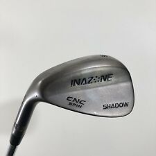 Inazone Left Hand 56* Sand Wedge Stiff CNC Spin Shadow FST Hi Rev Steel Shaft