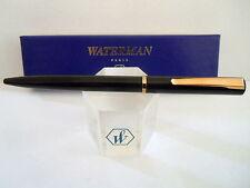 WATERMAN ALLURE BLACK  & GOLD BALLPOINT PEN NEW IN BOX