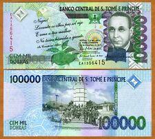 St Thomas & Prince, 100,000 (100000) 2010, P-69b, UNC