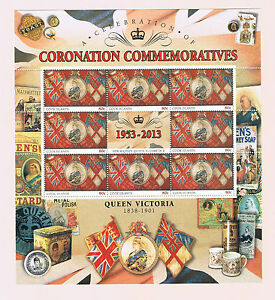 Cook Islands Queen Elizabeth Coronation Stamp Issue Sheet Set