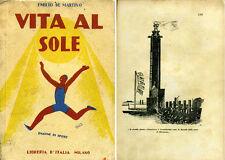 SILLABARI e SCOLASTICI_De Martino_Vita al Sole - Ed. Libreria d'Italia, 1929*>>>