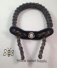 Paracord Bow Sling Matches Mossy Oak  Break-Up Infinity w/black 7 hole yoke
