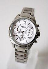 Fossil Damenuhr Armbanduhr BQ3035 Chronograph silber NEU